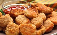 Cornmeal-crusted Chicken Nuggets with Blackberry Mustard Chicken Recipe In Urdu, Chicken Nugget Recipes, Gluten Free Recipes, Vegetarian Recipes, Cooking Recipes, What's Cooking, Cooking Classes, Good Food, Yummy Food