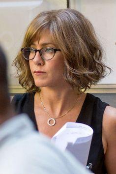 Jennifer Aniston.   Famous Frames: Celebrity Reading Glasses