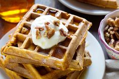 Take breakfast to a new level with these easy and deliciousPumpkin Waffles! Hubby is the breakfast guy in our house. He makes amazing pancakes, omelets & eggs, egg bakes (strata), country breakfast skillets, and definitely waffles! He is so good at listening to the kids when they request something special for breakfast and making it...