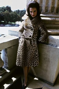 Lee Radziwill photographed by  David Bailey for British Vogue; early 1960s