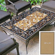 """mosaic table tops 