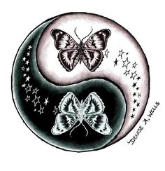 30 Amazing Yin Yang Tattoo Designs & Ideas So Cool You'll Fall In Love With Trendy Tattoos, Cute Tattoos, Beautiful Tattoos, Body Art Tattoos, Tatoos, Frog Tattoos, Tattoo Drawings, Yen Yang, Ying Y Yang