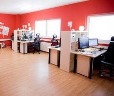 Red Office Design Ideas