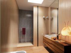 Рисунок плитки под дерево для ванной комнаты