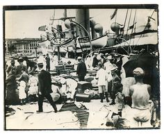 Immigrants Landing in San Juan 1905 Puerto Rico Vintage Photo | eBay