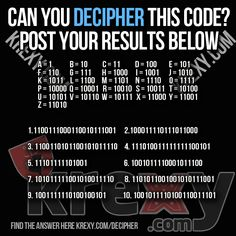 Decipher This Code Brain Teaser