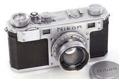 Take a look at the oldest surviving Nikon camera in the world made in occupied Japan right after the World War II.. http://www.lightnfocus.com/take-look-oldest-known-nikon-production-camera-world/