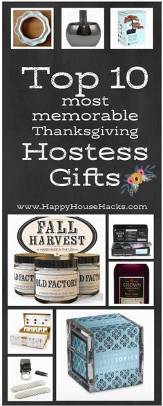 The Best Hostess Gift Ideas for Thanksgiving Hostess Gifts, How To Memorize Things, Great Gifts, Thanksgiving, Good Things, Gift Ideas, Party, Amazing Gifts, Thanksgiving Tree