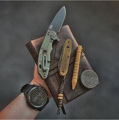 #EDC 22-1 Fisherman Card Wilderness Survival Fishing Tool Set Hooks /& Spoons