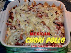 Mexican chori pollo recipe pinterest chorizo sausage mexicans mexican chori pollo recipe low carb gluten free publicscrutiny Choice Image