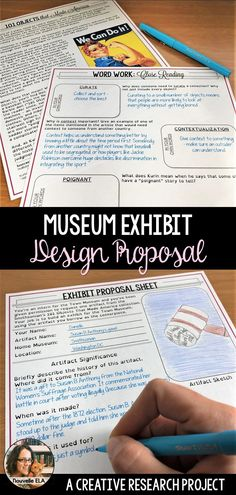 In this creative research project, students imagine a new collection focused around one of the artifacts from the Smithsonian's 101 Objects that Made America. Begin with a close reading to introduce the collection, then set them free to explore and research. Includes full Teacher's Guide, Answer Sheet, and Peer and Self Feedback Forms. (grades 7-10)
