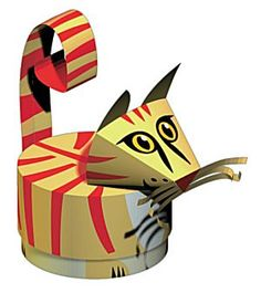 Crafts Kitten building board - The world's most private search engine Paper Box Template, Paper Art, Paper Crafts, Cat Coasters, Printable Box, How To Make Origami, Paper Animals, Free Boxes, Packaging