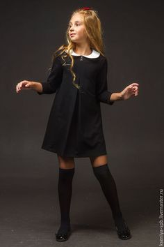 Clothes for kids girls schools cute outfits 58 Ideas Little Girl Fashion, Little Girl Dresses, Girls Dresses, Outfits Niños, Fashion Outfits, Trendy Outfits, School Fashion, Kids Fashion, Girls Pinafore Dress