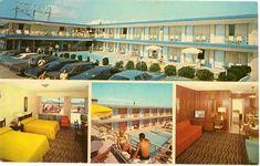Early 1970s postcard of the La Vita Motel, Wildwood Crest, NJ