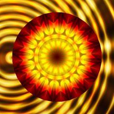 mise en vibration ; vibrated ; vibrado ; vibrira ; 振動さ Mandala de Pierre Vermersch Digital Drawings