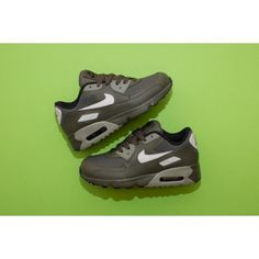 new arrival 5fc0c a608a Chaussures Nike Air Max 90 Maille PS Kargo Kaki Os Clair Stuc Foncé Noir  Moins Cher