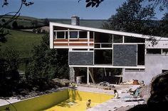 1962 Kaywana Hall nearing completion. Mervyn Seal and family move in, whilst self built work proceeds.
