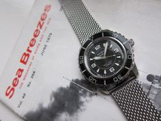 Seiko Custom Modified Diver's Watches : McSeiko FFF Fifty Five Fathoms and Heritage Black Bay BB