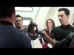 """""""Star Trek Into Darkness - Casting for Khan Behind the Scenes Clip. I kinda just sat and watched it with a big ol' grin :D"""""""