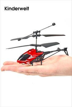 SIMBA DICKIE GROUP • Der Nano Tyrann IR von Carson Model Sport ist ein flugfertiger Indoor Fun-Helikopter. Die benötigte 2-Kanal-Infrarot-Fernsteuerung ist bereits im Set enthalten und dient gleichzeitig als Ladestation. Die coole Optik und knallige Farben machen den kompakten Helikopter zum echten Hingucker. Das robuste Modell fliegt eigenstabil und lässt sich sehr einfach steuern – und ist... Bild anzeigen…