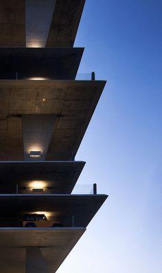 1111 Lincoln Road - Parking garage at 1111 Lincoln Road, designed by Herzog & De Meuron. (Miami Beach, Florida)
