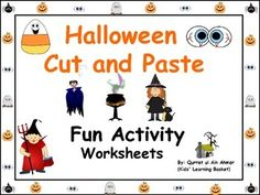 Halloween Fun Cut and Paste Activity Worksheets:---Total 6 worksheets includedIf you want any change kindly let me know.Write in Ask question tab. Thank you!!!Halloween Fun Cut and Paste Activity Worksheets: by Qurrat ul Ain Ahmer is licensed under a Creative Commons Attribution 4.0 International License.