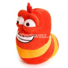 This is an bright orange laughing larva plush toy, it's so happy with a big smile, you can see its white teeth. With such a cute appearance and soft touch, this insect stuffed is a hot sale item at Toyswill, you can't miss it. Laughing Dog, Sale Items, Tigger, Wooden Toys, Action Figures, Insects, Plush, Orange, Disney Characters