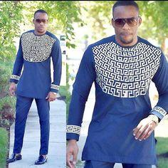 African men's clothing / African fashion/ wedding suit/dashiki / African men's shirt/ vêtement africain/ chemise et pantalon/ Ankara styles African Wedding Attire, African Attire, African Wear, African Dress, African Outfits, African Style, African Shirts, African Fashion Designers, African Men Fashion