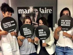 A equipe de Marie Claire já está pronta para participar das manifestações pelo Dia Internacional da Mulher nesta quarta. No mundo todo milhares de mulheres vão parar de trabalhar ou tomar as ruas para protestar pelos seus direitos. E você? Vem com a gente? #NoMeuCorpoMandoEu #ForçaFeminina #UmDiaSemMulher #womensmarch #aDayWithoutaWoman  via MARIE CLAIRE BRASIL MAGAZINE OFFICIAL INSTAGRAM - Celebrity  Fashion  Haute Couture  Advertising  Culture  Beauty  Editorial Photography  Magazine…