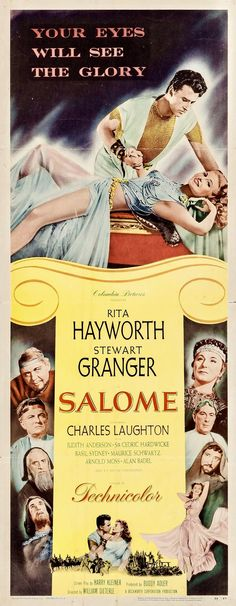 Salome | US Movie Poster, 1953