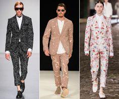 Xu hướng thời trang nam sặc sỡ tại Milan Fashion Week