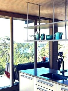 decoration. Hanging Shelves From Ceiling Kitchen Pictures On Shelf Free Home Designs Mounted