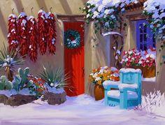 Chile Ristras for Christmas