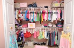 i want a bigger closet for Mira..definitely...