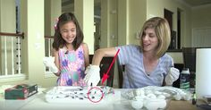 She Dips Eggs In Shaving Cream. The Results? Beautiful!