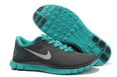 Nike Free 4.0 V2 Mens Teal Dark Gray