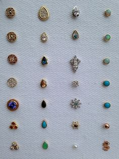 Beautiful BVLA studs (Mine is the opal in rose gold (top right) Adore!- Beautiful BVLA studs (Mine is the opal in rose gold (top right) Adore! Nose Jewelry, Jewelry Box, Jewelry Accessories, Bvla Jewelry, Jewelry Design, Jewlery, Cheap Jewelry, Hair Jewelry, Piercing Tattoo