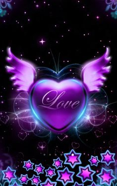 - Furniture Tutorial and Ideas Heart Wallpaper, Purple Wallpaper, Love Wallpaper, Wallpaper Backgrounds, Iphone Wallpapers, Pretty Pictures, Art Pictures, Art Pics, Watch Drawing