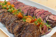 Hjortekaker med timian   Millas Mat Frisk, Steak, Beef, Food, Meat, Essen, Steaks, Meals, Yemek