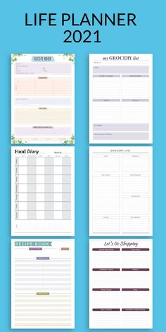 This collection of Daily Meal Planner Templates help you start planning your life more efficiently. What better way to make your day's easier, keeping everything organised and your life on track. This Printables are designed with YOU in mind! Weekly Meal Plan Template, Meal Planner Template, Printable Planner, Printables, Monthly Menu Planner, Goals Planner, Life Planner, Goals Worksheet, Goal Setting Worksheet