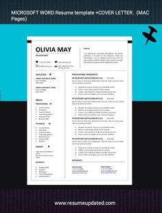 Microsoft Word Resume Template, Cv Template, Resume Templates, Cover Letter Design, Cover Letter For Resume, Resume Cv, Resume Design, Work Basics, Cv Words