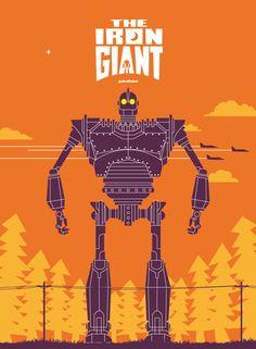 The Iron Giant by goRedRobot