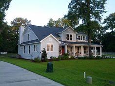 Front Elevation Craftsman   Farmhouse  House Plan 74020