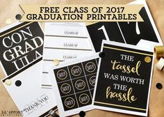 One of our most popular requests every year is for our free graduation printables. For our third year in offering...