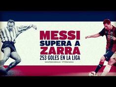 Les 253 buts de Lionel Messi en LIGA (vidéo) - http://www.actusports.fr/125349/les-253-buts-de-lionel-messi-en-liga-video/