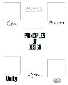 principles of design scavenger hunt