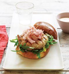 Tuna & Ginger Burgers