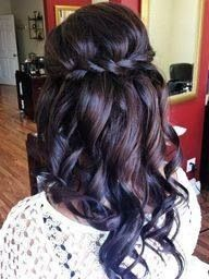 my bridesmaid hairstyle! Cant wait for the wedding!