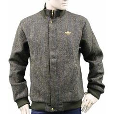 Adidas David Beckham Tweed Track Top, #men #polyvore