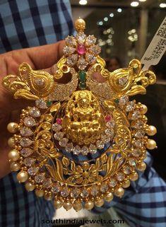 Gold Stone Pendant design